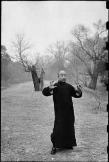 Wang Maozhai's Taiji class at Tai Miao 3 - Henri Cartier - Bresson